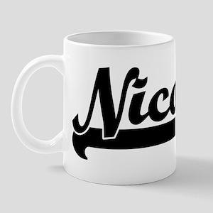 Black jersey: Nico Mug