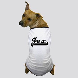 Black jersey: Fox Dog T-Shirt