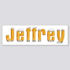 Jeffrey Beer Bumper Sticker