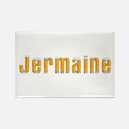 Jermaine Beer Rectangle Magnet