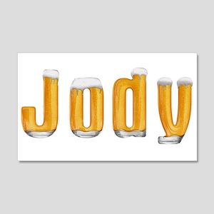 Jody Beer 22x14 Wall Peel