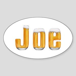 Joe Beer Oval Sticker
