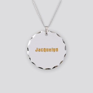 Jacquelyn Beer Necklace Circle Charm