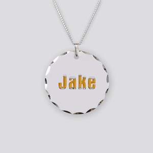 Jake Beer Necklace Circle Charm