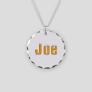 Joe Beer Necklace Circle Charm