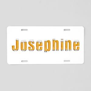 Josephine Beer Aluminum License Plate