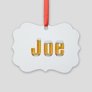 Joe Beer Picture Ornament