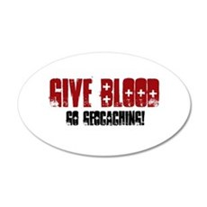 Give Blood! Wall Decal