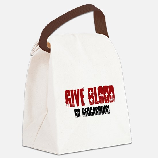 Give Blood! Canvas Lunch Bag