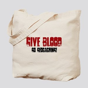Give Blood! Tote Bag