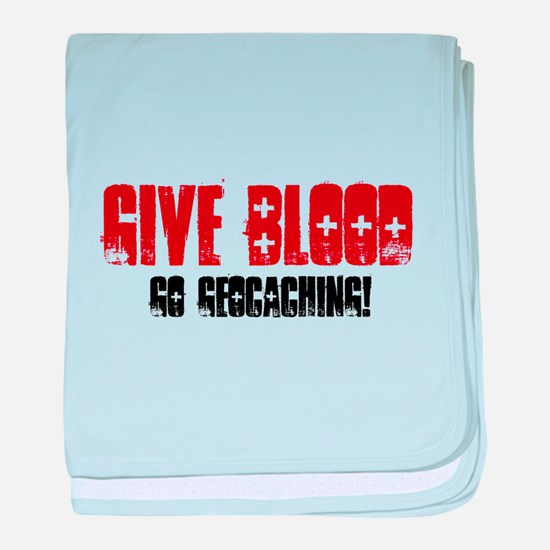 Give Blood! baby blanket