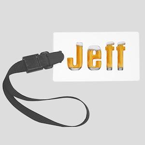 Jeff Beer Large Luggage Tag
