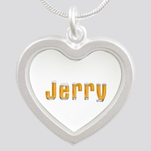 Jerry Beer Silver Heart Necklace