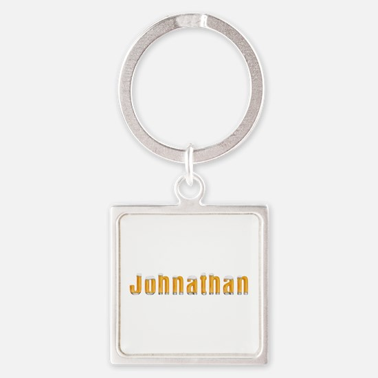 Johnathan Beer Square Keychain