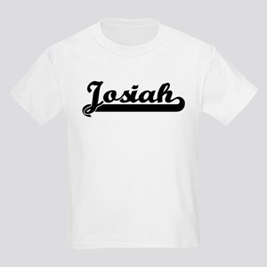 Black jersey: Josiah Kids T-Shirt