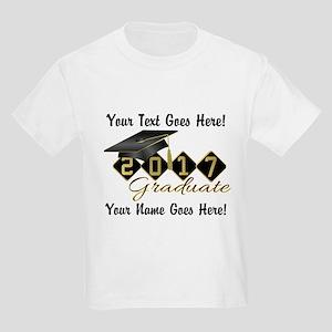 Graduate Black 2017 Kids Light T-Shirt