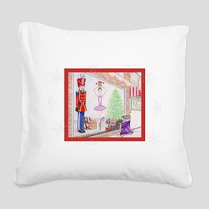 The Nutcracker Square Canvas Pillow