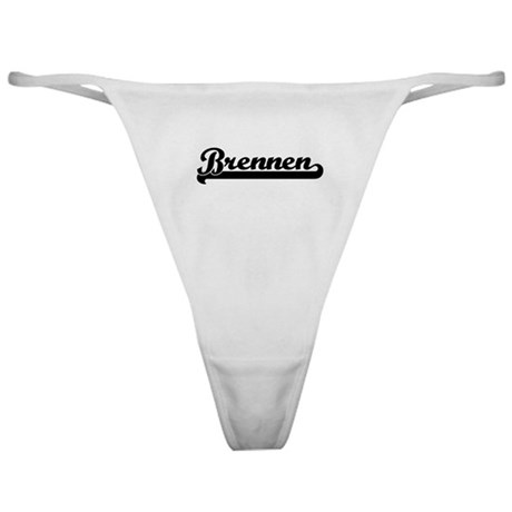 Black jersey: Brennen Classic Thong