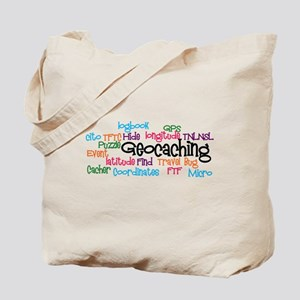 Geocaching Collage Tote Bag