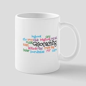 Geocaching Collage Mug