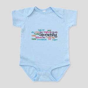 Geocaching Collage Infant Bodysuit