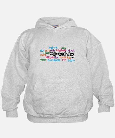 Geocaching Collage Hoodie