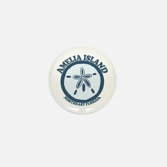 Amelia Island - Sand Dollar Design. Mini Button