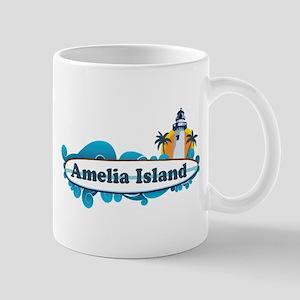 Amelia Island - Surf Design. Mug