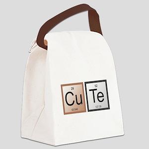 CuTe Canvas Lunch Bag