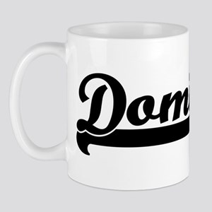 Black jersey: Dominick Mug