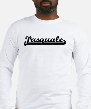 Black jersey: Pasquale Long Sleeve T-Shirt