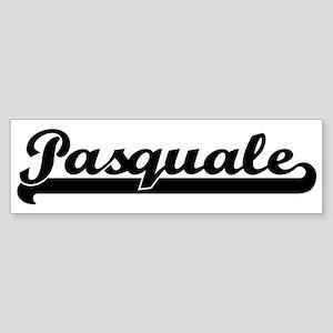 Black jersey: Pasquale Bumper Sticker