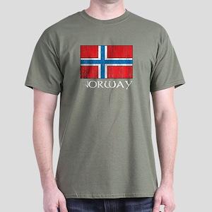 Norway Flag Dark T-Shirt