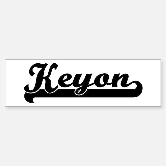 Black jersey: Keyon Bumper Car Car Sticker