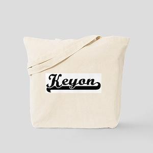 Black jersey: Keyon Tote Bag