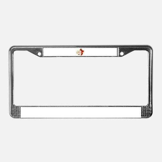 Lebanese Boyfriend designs License Plate Frame