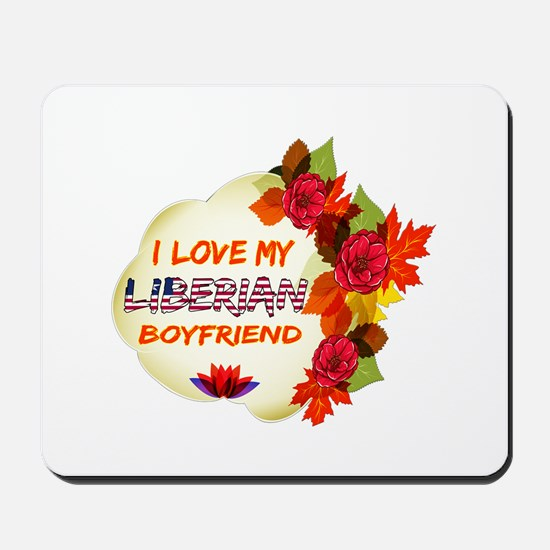Liberian Boyfriend designs Mousepad