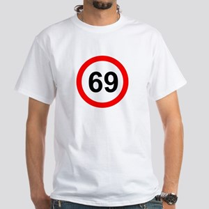 ROAD SIGN 69 LIMIT!