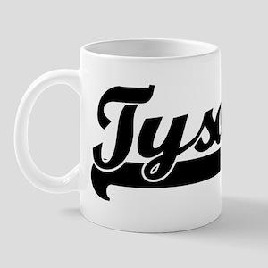 Black jersey: Tyson Mug