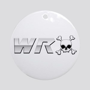WRX Skull Ornament (Round)