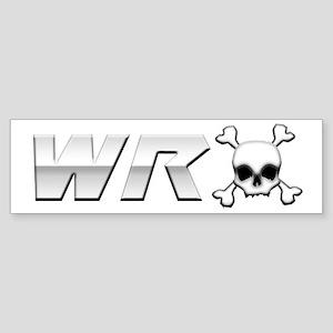 WRX Skull Sticker (Bumper)