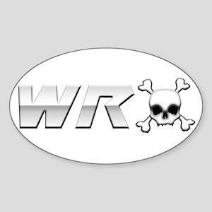 WRX Skull Sticker (Oval)