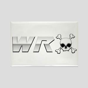 WRX Skull Rectangle Magnet