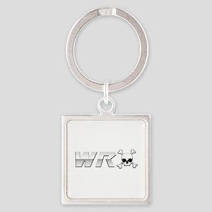 WRX Skull Square Keychain