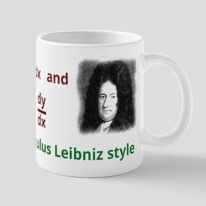 Calculus Leibniz style Mug