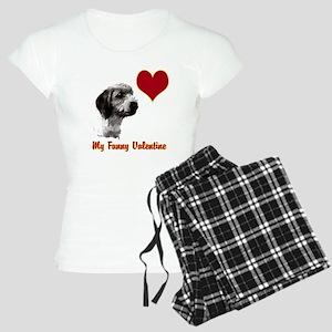 petit basset griffon vendeen Women's Light Pajamas