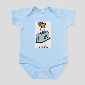 Toast Infant Bodysuit