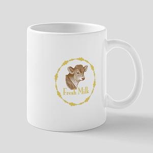Fresh Milk with Baby Cow Mug