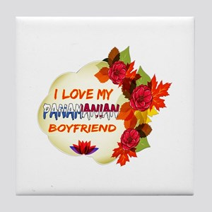 Panamanian Boyfriend designs Tile Coaster