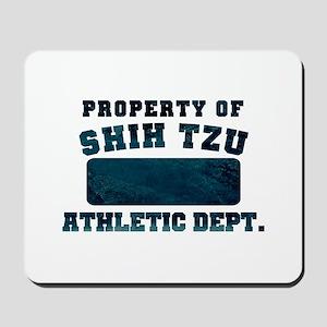 Property of Shih Tzu Mousepad